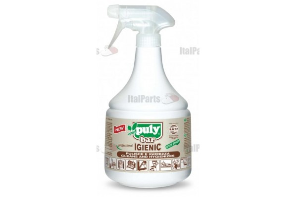 PULY BAR IGIENIC CLEANING AND HYGIENIZING SPRAY 1L.
