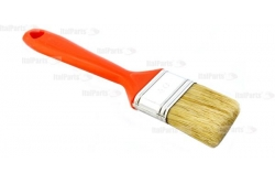 CLEANER BRUSH WITH BLONDE BRISTLES L50MM, PLASTIC HANDLE