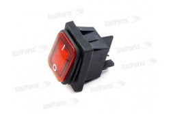 RED BIPOLAR SWITCH 16A 250V