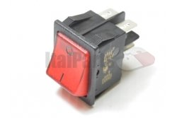 RED ON-OFF SWITCH BRIGHT BUTTON