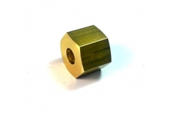 TAP JOINT BRASS NUT 3/8 FOR 8MM CAP