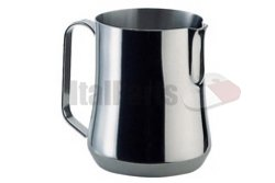 MILK PITCHER MOD. AURORA WITH SPOUT 150CL. STAINLESS STEEL