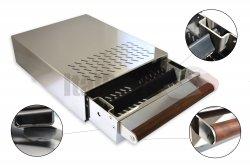 ITALPARTS Knock Box with Wood Handle, 280 x 370 x 100 mm